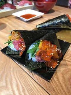 手巻き寿司の写真・画像素材[819578]