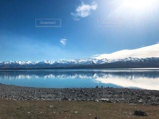 プカキ湖の写真・画像素材[819619]