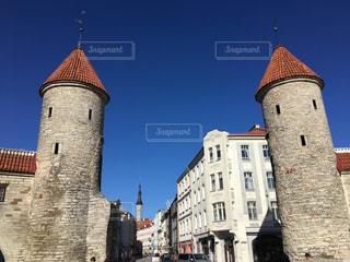 ヴィル門 エストニア・タリンの写真・画像素材[831018]