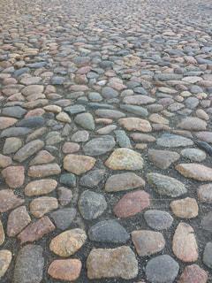 タリン旧市街の石畳の写真・画像素材[842194]