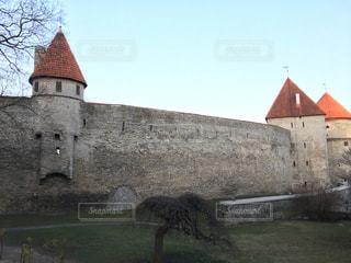 タリン旧市街の城壁の写真・画像素材[842218]