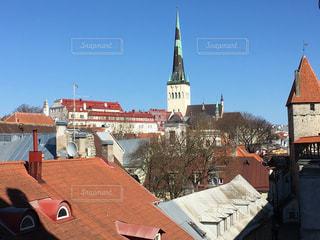 城壁の上からの景色の写真・画像素材[842294]
