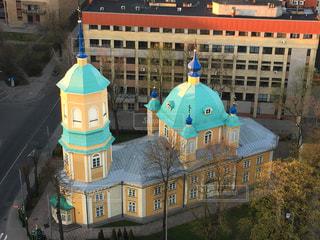 かわいい教会 ラトビア・リガの写真・画像素材[855823]