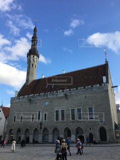 タリン旧市庁舎 エストニア・タリンの写真・画像素材[857142]