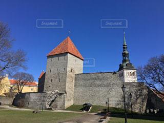 タリン旧市街の城壁の写真・画像素材[857149]