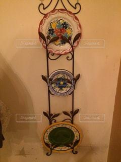スペイン風の飾り皿の写真・画像素材[831840]