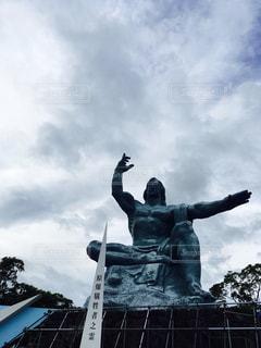 長崎平和祈念像の写真・画像素材[818077]
