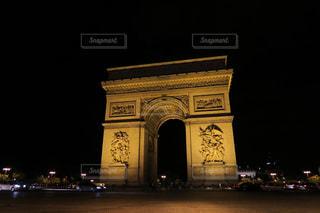 パリ凱旋門の写真・画像素材[874756]