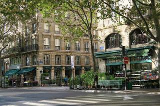 パリの街角の写真・画像素材[875149]