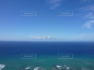 ハワイ、ダイヤモンドヘッドからの眺めの写真・画像素材[876330]