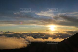 マウナケアのサンセットの写真・画像素材[876986]