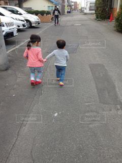 散歩の写真・画像素材[819192]