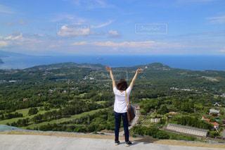 大室山からの景色の写真・画像素材[820843]
