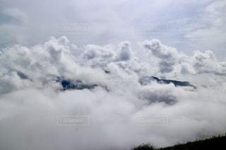 雲の上の写真・画像素材[821064]