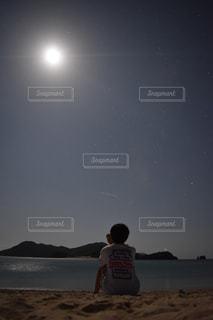 夜空とビーチ - No.821071
