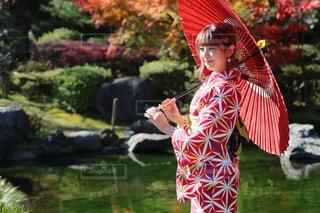 金沢で着物👘の写真・画像素材[837588]