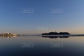 江ノ島のウユニ塩湖 - No.933153