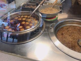 それで料理した鍋の写真・画像素材[1461912]