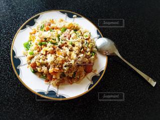 手作り炒飯の写真・画像素材[822184]