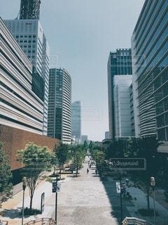 都市の高層ビルの写真・画像素材[821249]