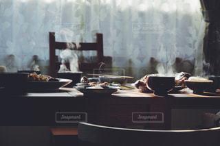 温かい朝食の写真・画像素材[822964]