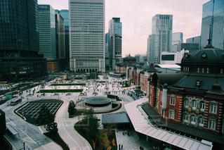 都市の高層ビルの写真・画像素材[962704]