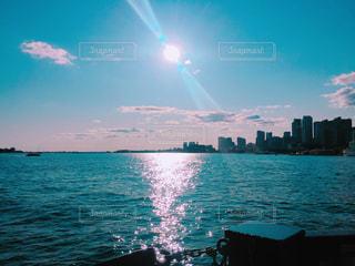 湖の上からの写真・画像素材[821578]
