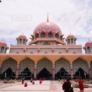 マレーシア ピンクモスクの写真・画像素材[821515]
