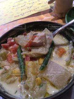 野菜たっぷりスープの写真・画像素材[821606]