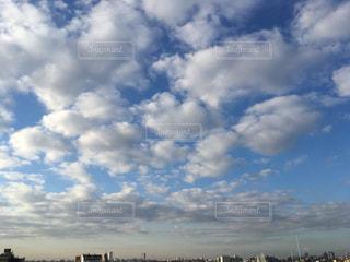空には雲モコモコの写真・画像素材[951920]