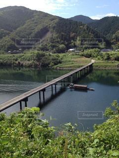 四国 四万十川の沈下橋の写真・画像素材[822041]