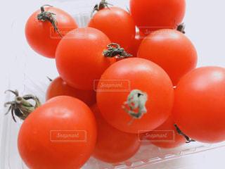 テーブルの上のトマトの写真・画像素材[1761381]