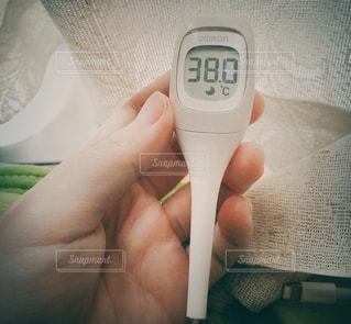 体温計の写真・画像素材[1867585]