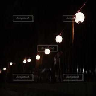 お祭りの提灯の写真・画像素材[822771]