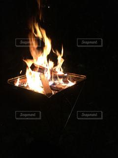 焚き火の写真・画像素材[823544]