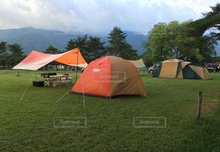 朝のキャンプ場 - No.823128