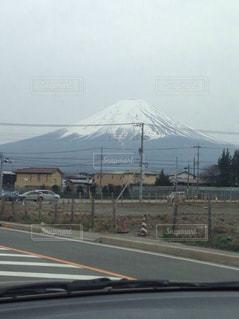 車内から富士の写真・画像素材[824832]