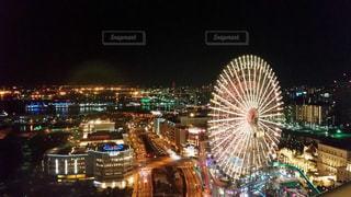 横浜ベイホテル東急のテラスからの写真・画像素材[823427]