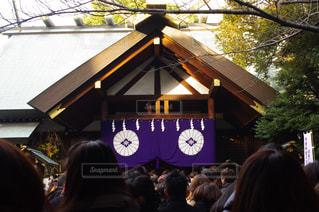 東京大神宮へ初詣の写真・画像素材[825837]