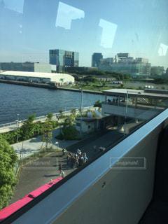 都市を流れる川の写真・画像素材[824667]