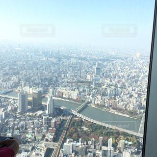 東京スカイツリーから見たジオラマ - No.826950