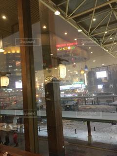 駅前冬景色の写真・画像素材[826956]