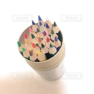 カラフル色鉛筆の写真・画像素材[1192546]