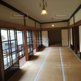 田母沢御用邸 広い部屋の写真・画像素材[1192553]