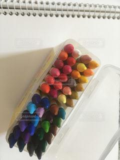 多色クレヨンの写真・画像素材[2771261]