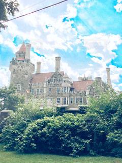 夢の中のお城の写真・画像素材[825348]