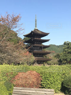 国宝  瑠璃光寺の写真・画像素材[847770]