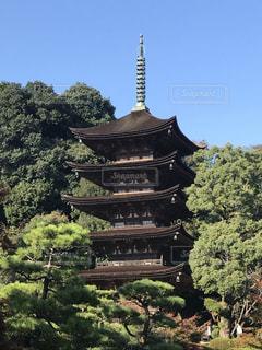 国宝  瑠璃光寺の写真・画像素材[847772]