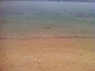 波打ち際の写真・画像素材[856953]