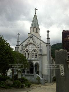 津和野の教会の写真・画像素材[856959]